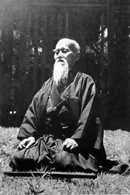 O Sensei in meditation